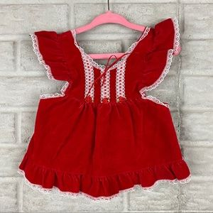 Vintage Evy Of California Baby Dress Size 12 Month